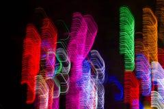 Luzes da árvore Fotos de Stock