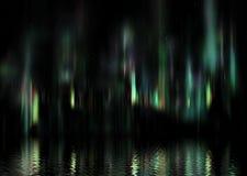 Luzes da Aurora Foto de Stock