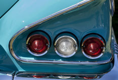 Luzes da cauda de Chevy Foto de Stock