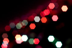 Luzes da cidade Foto de Stock