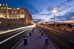 Luzes da cidade Fotografia de Stock