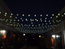 Luzes 2 da cidade Fotografia de Stock Royalty Free