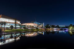 Luzes da cidade em adelaide fotografia de stock
