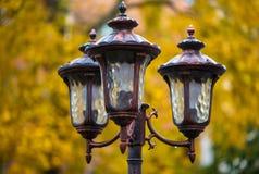 Luzes da cidade Iluminação de rua Imagens de Stock