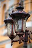 Luzes da cidade Iluminação de rua Fotos de Stock
