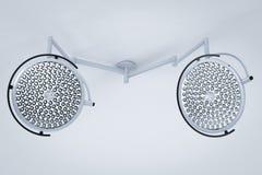 Luzes da cirurgia ou lâmpadas médicas Fotografia de Stock Royalty Free