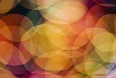 Luzes da cor Fotografia de Stock