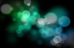 Luzes da cor do Natal Fotografia de Stock Royalty Free