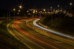 Luzes da estrada Fotos de Stock Royalty Free