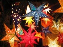 Luzes da estrela fotografia de stock royalty free