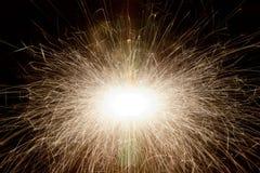 Luzes da faísca Foto de Stock