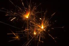 Luzes da faísca Imagens de Stock