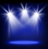 Luzes da fase foto de stock royalty free
