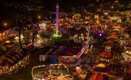 Luzes da feira de condado Imagens de Stock