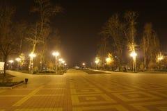 Luzes da noite Fotos de Stock Royalty Free