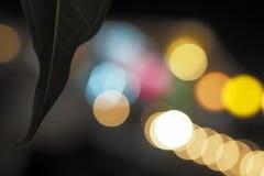 Luzes da noite Imagem de Stock Royalty Free