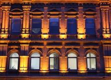 Luzes da noite Fotografia de Stock Royalty Free