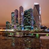 Luzes da noite da cidade Imagens de Stock