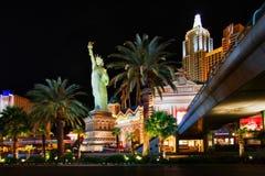 Luzes da noite da cidade da paixão Imagem de Stock Royalty Free
