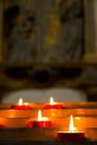 Luzes da vela Imagem de Stock Royalty Free