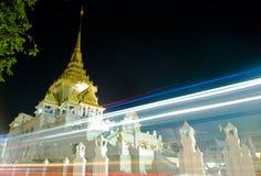 Luzes da velocidade do templo Foto de Stock Royalty Free