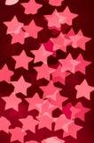 luzes das estrelas & do x28; pink& x29; Foto de Stock