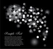 Luzes de Abstrat do Glitter para o fundo dos insectos ilustração stock