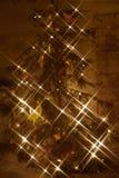 Luzes de BARD Christmas Imagens de Stock