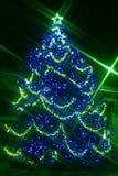 Luzes de BARD Christmas Fotos de Stock Royalty Free