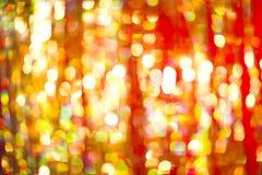 Luzes de Blured do Natal fotos de stock