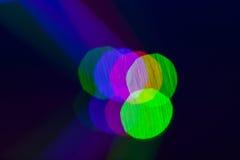 Luzes de Bohek, luzes na fase Fotografia de Stock Royalty Free