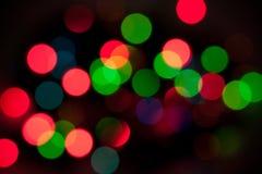 Luzes de Bokeh Imagens de Stock Royalty Free
