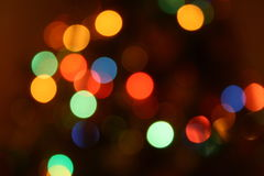 Luzes de Bokeh Imagem de Stock