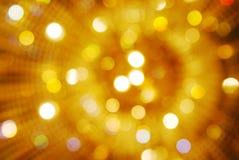 Luzes de Bokeh Fotos de Stock