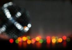 Luzes de Bokeh Foto de Stock Royalty Free