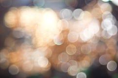Luzes de Bokeh Fotografia de Stock
