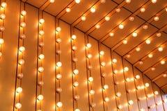 Luzes de brilho Imagem de Stock Royalty Free