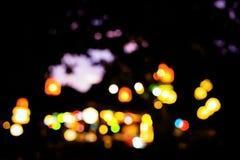 Luzes de Bstract Luzes de Bokeh Imagens de Stock