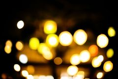 Luzes de Bstract Luzes de Bokeh Foto de Stock Royalty Free