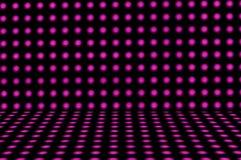 Luzes de bulbo abstratas Imagem de Stock Royalty Free
