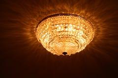 Luzes de cristal Fotografia de Stock Royalty Free