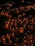 Luzes de Diwali fotografia de stock