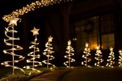 Luzes de Fesitve Foto de Stock