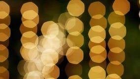 luzes De-focalizada e da dança vídeos de arquivo