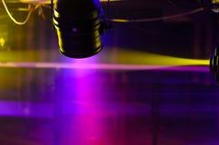 Luzes de Fresnel da fase e projetor do refletor Imagens de Stock