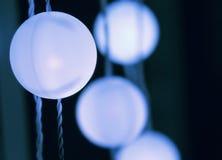 Luzes de incandescência Imagem de Stock