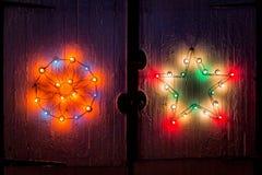 Luzes de incandescência do celeiro Imagens de Stock Royalty Free