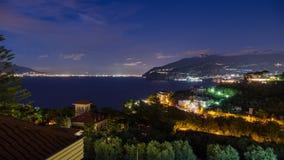 Luzes de Nápoles Fotos de Stock