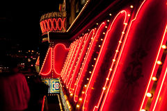 Luzes de néon Imagem de Stock Royalty Free