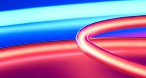 Luzes de néon Foto de Stock